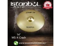 "Istanbul Agop cymbal 14 Inch MS-X Crash 14"" Cymbal"