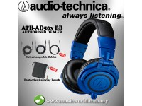AUDIO TECHNICA - ATH-M50x BB Blue Professional Monitor Headphone  (M50X)