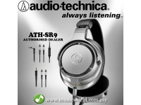 AUDIO TECHNICA - ATH-SR9 Sound Reality Over-Ear High-Resolution Headphone (SR9)