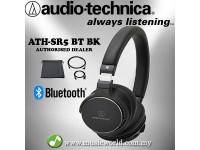 AUDIO TECHNICA - ATH-SR5BT Black Bluetooth Wireless On-Ear High Res Headphone (SR5BT)