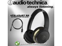 AUDIO TECHNICA - ATH-AR3BT Black SonicFuel Wireless On-Ear Headphones with Mic & Control(AR3BT)