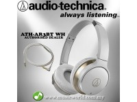 AUDIO TECHNICA - ATH-AR3BT White SonicFuel wireless on-ear headphones (AR3BT)