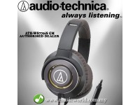 AUDIO TECHNICA - ATH-WS770iS GM Gun Metal Solid Bass Over-Ear Headphone (WS770iS)