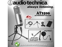 Audio Technica ATR2500-USB Cardioid Condenser USB Microphone Complete (ATR2500 USB)