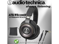 AUDIO TECHNICA - ATH-WS1100iS Solid Bass Over-Ear Headphone (WS1100iS)