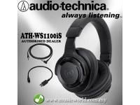 AUDIO TECHNICA - ATH-WS990BT Solid Bass Wireless Over-Ear Headphone (WS990BT)