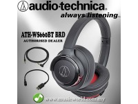AUDIO TECHNICA - ATH-WS660BT Solid Bass Wireless Over-Ear Headphone (WS660BT)