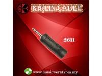 Kirlin 2611 Adapter 3.5MM Male to 6.5MM Female Mono M Converter Jack Adaptor