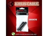 Kirlin 2606M Adapter 1.4 Inch 3.5MM 2 Female Convertor Adaptor