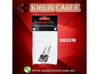 Kirlin 2613M Adapter 6.5mm to 3.5mm Mono Adapter Instrument Jack