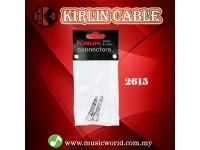 Kirlin 2615 Adapter 6.5mm to 3.5mm Stereo Adaptor Instrument Headphone Jack