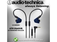 Audio technica - ATH-LS50iS BL Blue In-Ear Monitor Headphone Earphones (LS50iS)