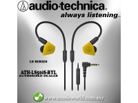 Audio Technica - ATH-LS50iS BYL Yellow Yellow In-Ear Monitor Headphones Earphones (LS50iS)