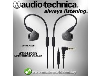 Audio Technica - ATH-LS70iS In-Ear Monitor Headphones Earphones (LS70iS)