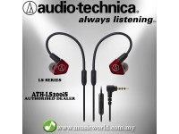Audio Technica - ATH-LS200iS In-Ear Monitor Dual Armature Driver Headphone Earphones (LS200iS)
