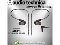 Audio Technica - ATH-E70 Professional In-Ear Monitor Headphone (E70)