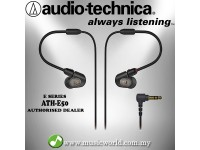 Audio Technica - ATH-E50 Professional In-Ear Monitor Headphones Earphones (E50)