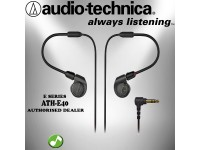 Audio Technica - ATH-E40 Professional In-Ear Monitor Headphones Earphones (ATHE40)