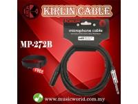 Kirlin MP-272B 10 Meter Mono Jack 6.5mm To XLR Female XLR Patch Cable