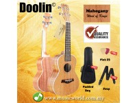 BSL Doolin DL-23K 23 inch Concert Ukulele Full Mahogany Package