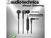 Audio Technica - ATH-CKR30iS BK SonicFuel In-Ear Headphones Earphones (CKR30iS)