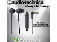 Audio Technica - ATH-CKR70iS BK Black  In-Ear High-Resolution Headphones Earphones (CKR70iS )