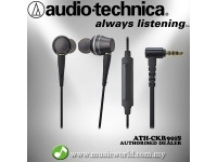 Audio Technica - ATH-CKR90iS In-Ear High-Resolution Headphones Earphones (CKR90iS)