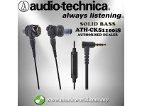 Audio Technica - ATH-CKS1100iS Solid Bass In-Ear Headphones Earphones (CKS1100iS)