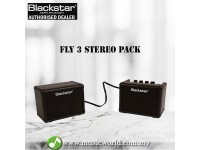"""BLACKSTAR Fly 3 Stereo Pack Mini Guitar Amplifier 6W 2x3"""" (Fly3 Fly-3)"""