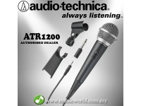 Audio Technica ATR1200 Cardioid Dynamic Vocal Instrument Microphone (ATR-1200 ATR 1200)