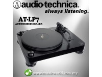 Audio Technica AT-LP7 Fully Manual Belt-Drive Turntable Black Disc Player (ATLP7 )