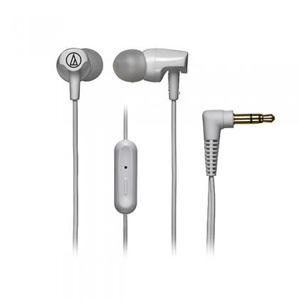 Audio Technica - ATH-CLR100iS WH White Sonic Fuel In-ear Headphones Earphones (CLR100iS)