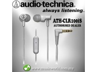 Audio Technica - ATH-CLR100iS WH White Sonic Fuel In-ear Headphones Earphones (CLR100iS)