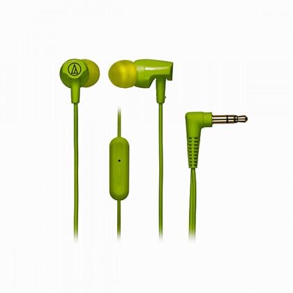 Audio Technica - ATH-CLR100iS GL Green Lime Sonic Fuel In-ear Headphones Earphones (CLR100iS)