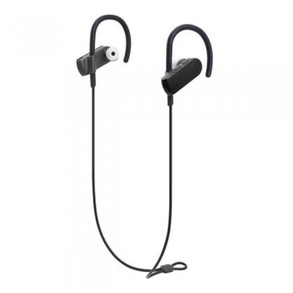 Audio-Technica ATH-SPORT50BT Black Sport Bluetooth Wireless In-Ear Headphones Earphones (SPORT50BT)