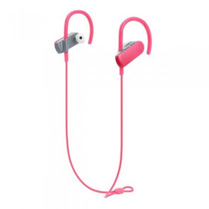 Audio-Technica ATH-SPORT50BT Pink Sport Bluetooth Wireless In-Ear Headphones Earphones (SPORT50BT)