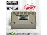 Blackstar HT-Dual Guitar Effect Pedal Distortion, Boost and Overdrive (HTDual)