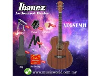 Ibanez AEG8EMH-OPN Open Pore Natural Acoustic Electric Guitar With Pickup (AEG8EMH)