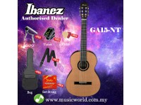 Ibanez GA15-NT Natural Full Sized Classical Acoustic Guitar (GA-15)