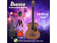 Ibanez PCBE12MH-OPN Open Pore Natural Acoustic Electric Bass Grand Concert Mahogany (PCBE12MH)