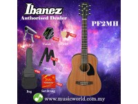 Ibanez  PF2MH-OPN Open Pore Natural 3/4 size Mahogany Acoustic Guitar (PF2MH)