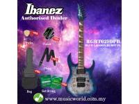 Ibanez  RGRT621DPB-BLF Blue Lagoon Burst Flat Solid Body Electric Guitar (RGRT621DPB)