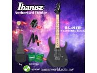 Ibanez  RG421M-WK Weather Black Solid Body Electric Guitar (RG421M)