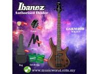Ibanez Gio GSRM20BWNF Walnut Flat miKro Short Scale 4-string Bass Guitar (GSRM20B)