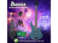 Ibanez Gio GSR320-BEM Baltic Blue Metallic 4-string Bass Guitar (GSR320)