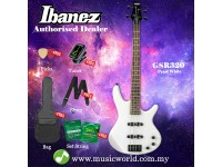 Ibanez Gio GSR320-PW Pearl White 4-string Bass Guitar (GSR320)