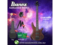Ibanez Gio GSR250B-WNF Walnut Flat 4-string Bass Guitar (GSR250B)