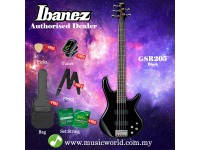 Ibanez Gio GSR205-BK Black 5 string Bass Guitar (GSR205)