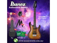 Ibanez Gio GSA60-BS Brown Sunburst Solid Body Electric Guitar (GSA60)