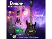 Ibanez Gio GRX70QA-TKS Transparent Black Sunburst Solid Body Electric Guitar (GRX70QA)